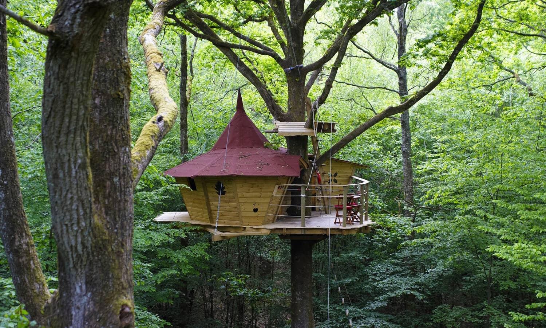 cabanes dans les arbres et sur l 39 eau dans le perche location et h bergement pour s jour. Black Bedroom Furniture Sets. Home Design Ideas